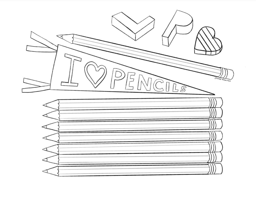 longhand pencils